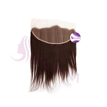 Closure (13x4) straight hair brown color - MCSARA HAIR
