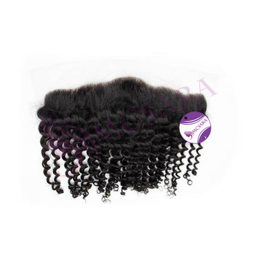 Frontal curly hair black color #1B