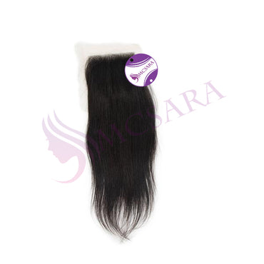 Closure (4.5x5.5) straight hair black color