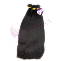 I tip yaki straight hair black color - MCSARA HAIR