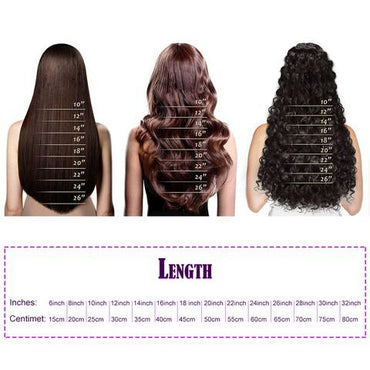 Weave wavy hair light brown color A++