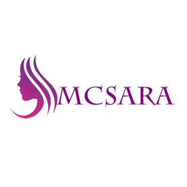 Bulk bouncy wavy hair light brown color A++ - MCSARA HAIR