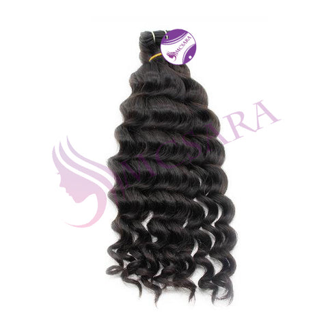 Weave body wavy hair black color