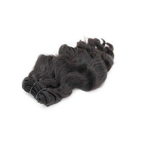 Weave body  wavy hair extensions #1 color