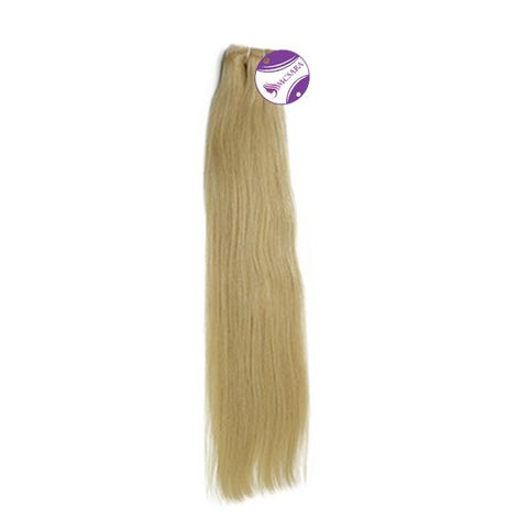 Weave straight hair Blonde color #22, A++