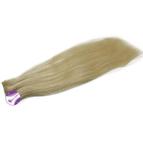 Weave straight hair Blonde color A