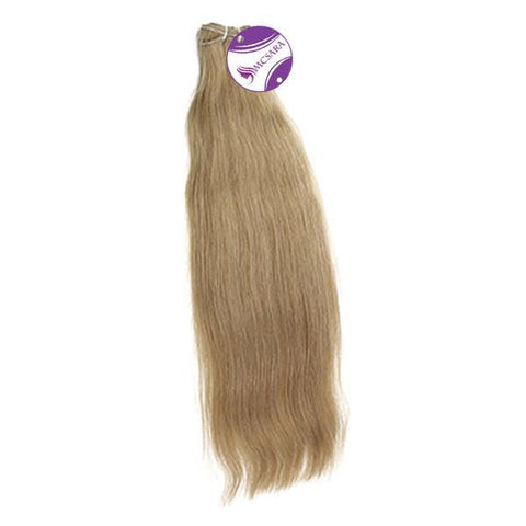 Weave straight hair blonde color #9C, A++