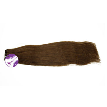 Weave straight hair brown color A+