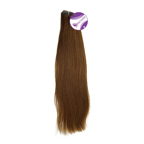 Weave straight hair brown color A++