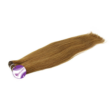 Weave straight hair brown color A