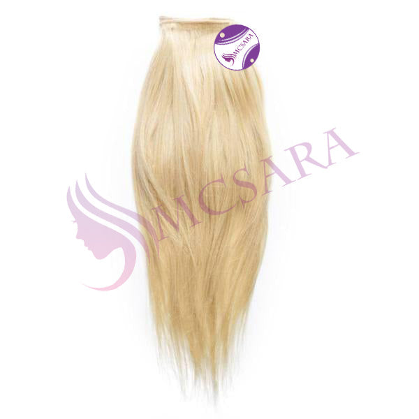 Weave straight hair Blonde color A+