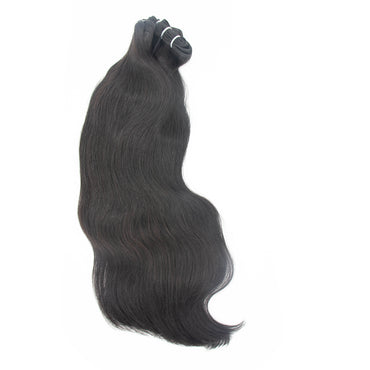 Weave straight hair black color A