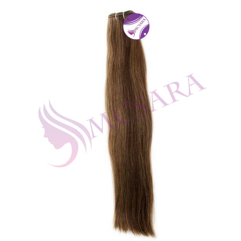 Weave straight hair mix 2 - 6c color