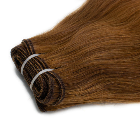 Weave straight hair mix #4 - #8 color
