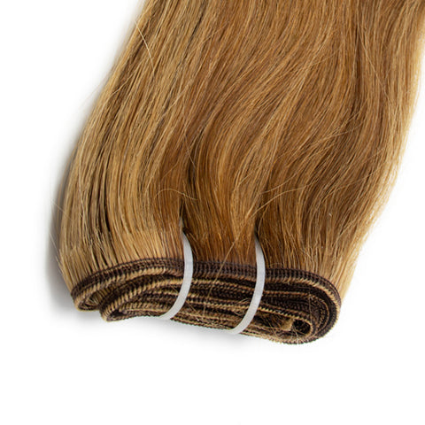 Weave straight hair mix #4 - #27 color