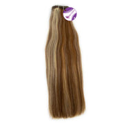 Weave straight hair mix #4 and #613 color