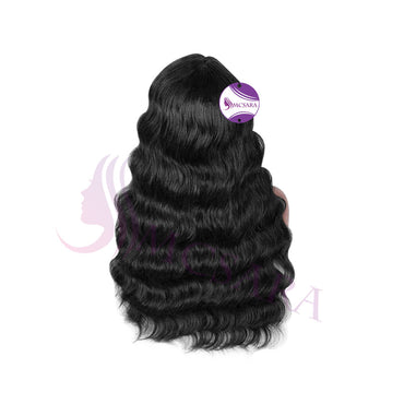 lace front wigs wavy black hair
