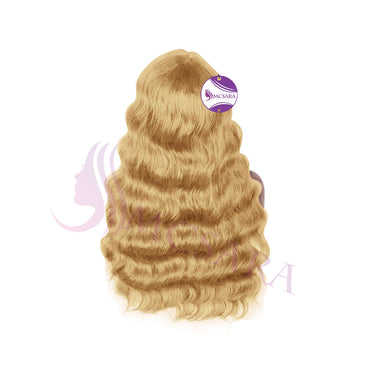 lace front wigs wavy brown color