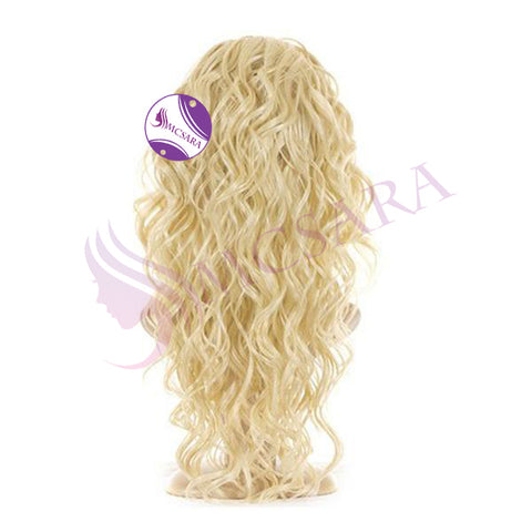 cheap wigs curly blonde hair