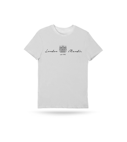 London Mandir Script T-Shirt - Kids