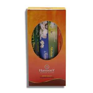 Agarbatti Tube - Harmony Assorted Fragrances - 300gm