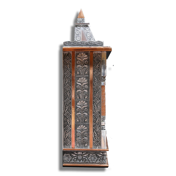 "Ghar Mandir Oxidised - 20"" x 8"" x 30"" (Inches)"