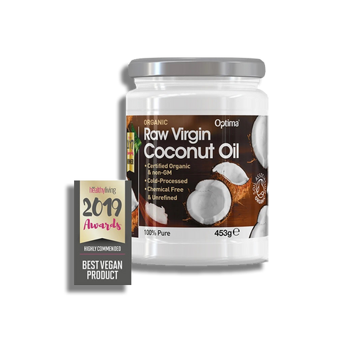 Organic Raw Virgin Coconut Oil - 453g
