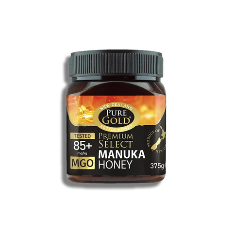 Pure Gold Premium Select Manuka Honey MGO 85 - 375g