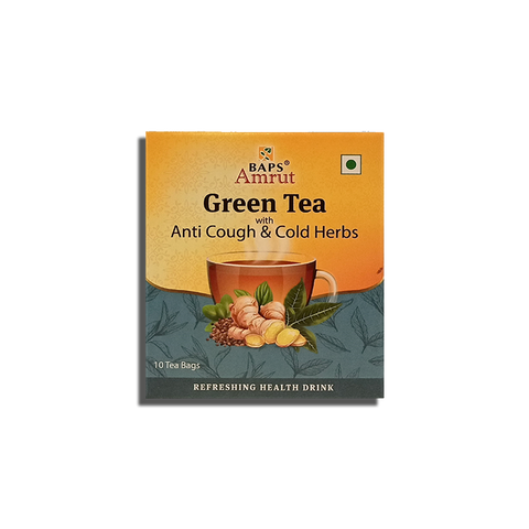 Green Tea - Anti Cough & Cold Herbs