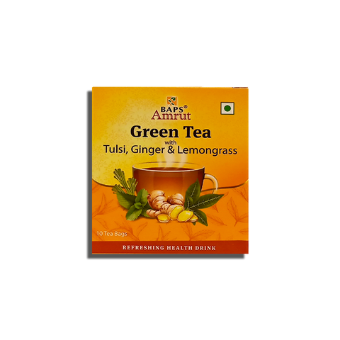 Green Tea - Tulsi, Ginger & Lemongrass