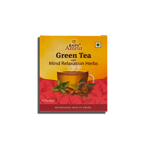 Green Tea - Mind Relaxation Herbs
