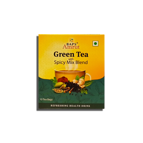 Green Tea - Spicy Mix Blend