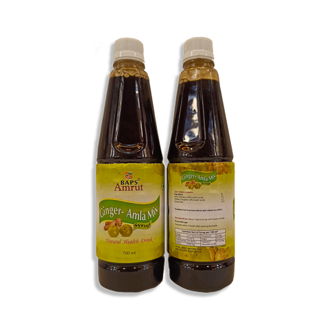 Ginger Amalki Mix Syrup 700ml