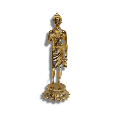 "Nilkanth Varni - 24"" (Inches) - Brass Gold Finish"