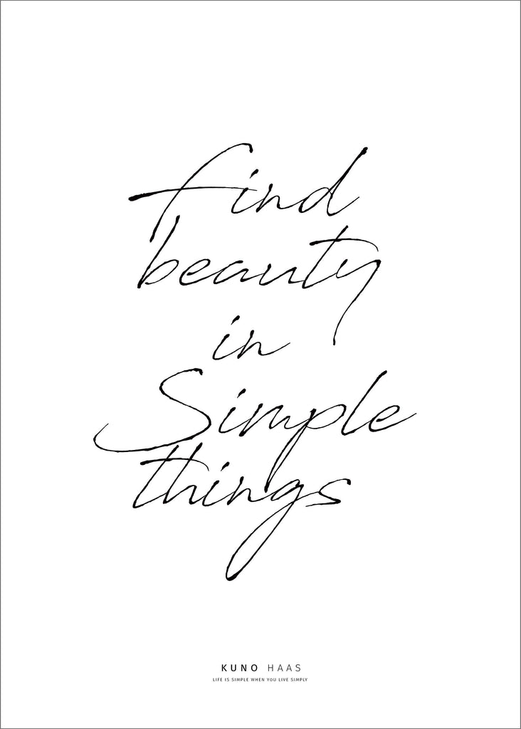 הדפס simple things