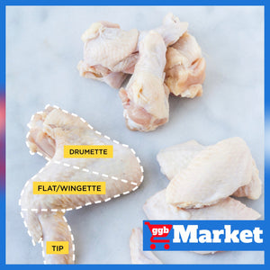 Chicken Drumette/Lollipop 2KG MOQ ($16.8/Catty)