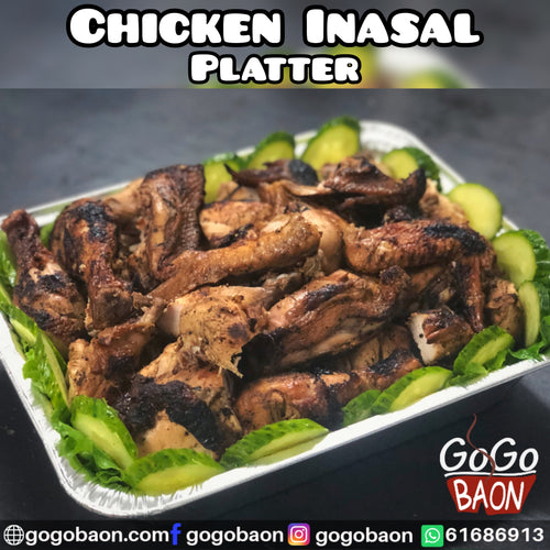 Chicken Inasal Platter (Chopped)