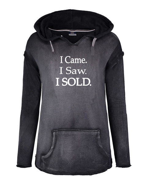 I came I saw I Sold Hoodies-Black-VM