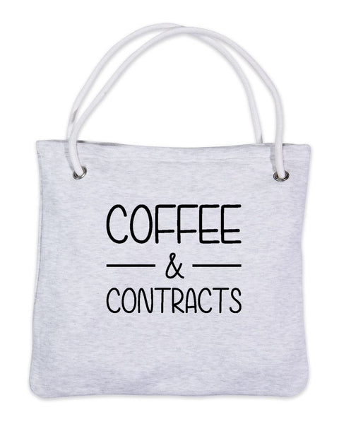 Coffee & Contracts-Bags-Gy