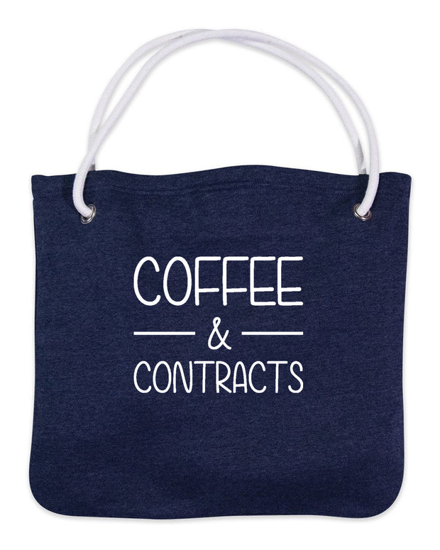 Coffee & Contracts-Bags-Navy
