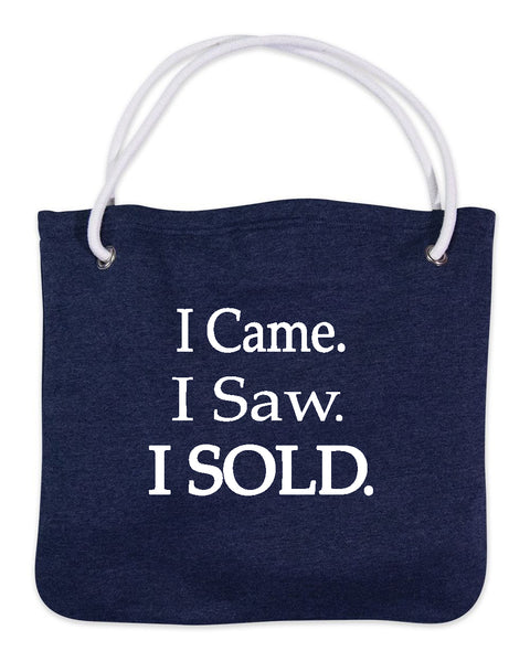 Came I Saw I Sold-Bags-Navy