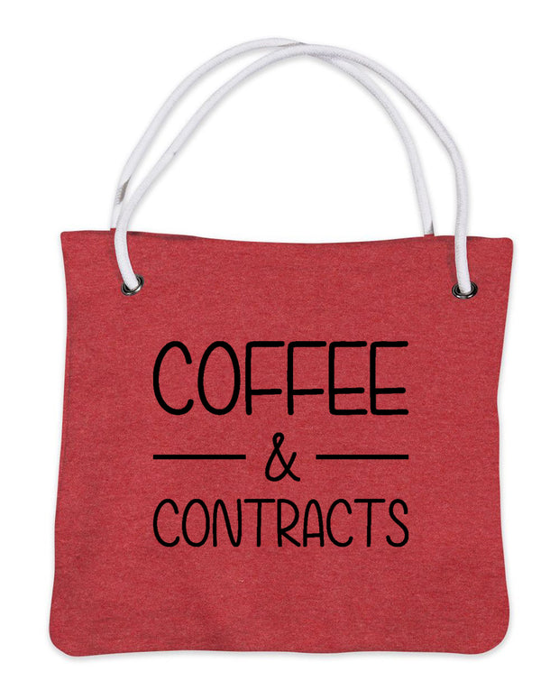 Coffee & Contracts-Bags-Red