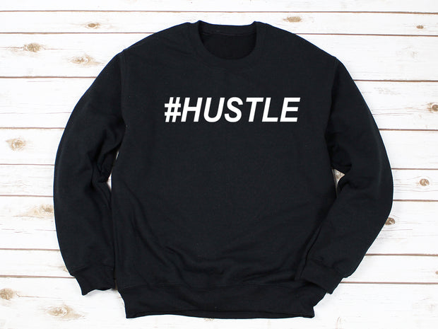#Hustle Mens Pullover