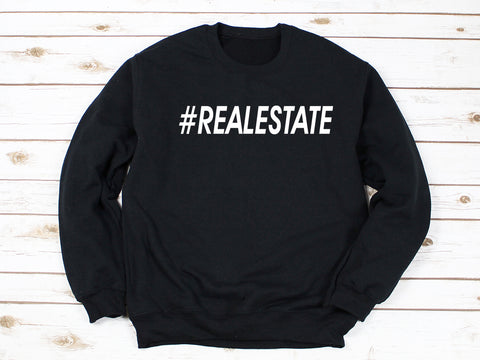 #RealEstate Mens Pullover
