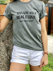 This Girl Sell RealEstate-SS-Tees