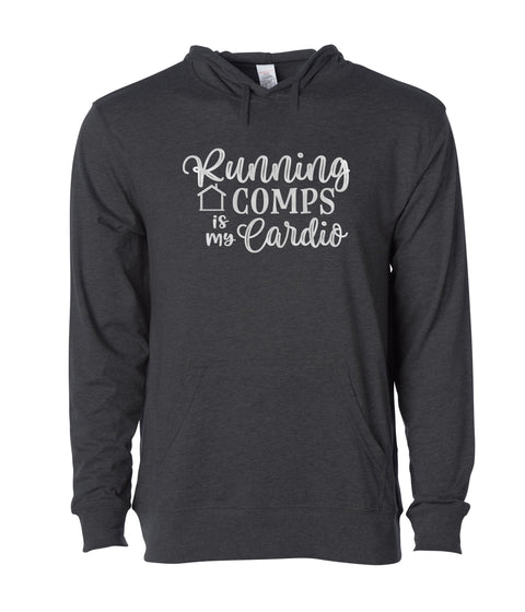 Running Comps-LW-Hooded-Pullover
