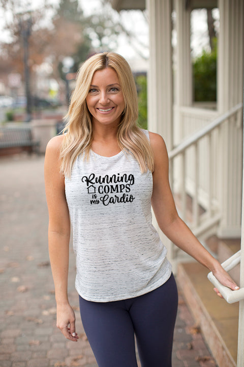 Running Comps Muscle Tank Top