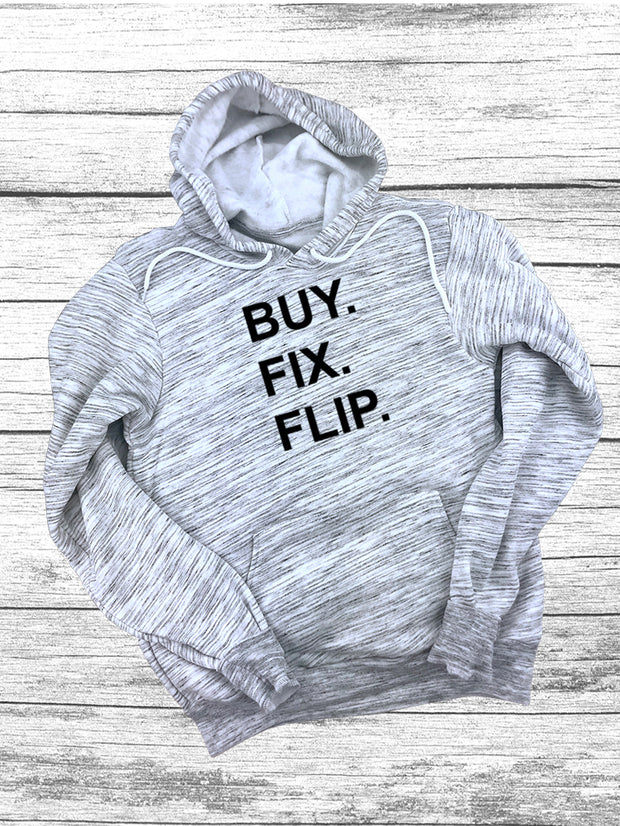 Buy Fix Flip Hoodies-Wt Marble