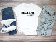 RealEstate Mood Mens SS-Tees