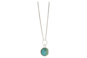 Large Circle Necklace - Long
